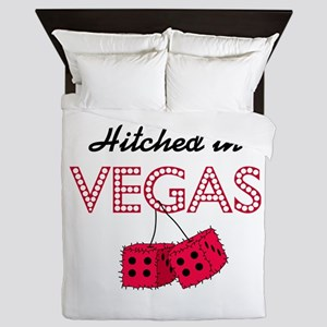 Hitched in Vegas Queen Duvet